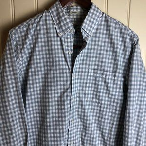 J. Crew Classic Fit Long Sleeve Shirt Size S Gray